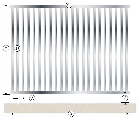recinzione modulare