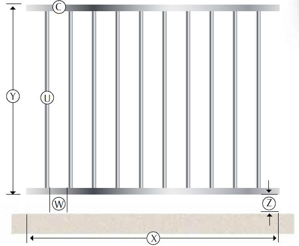 palladio recinzione modulare